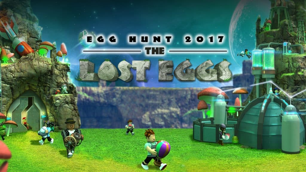 Roblox Egg Hunt 2017
